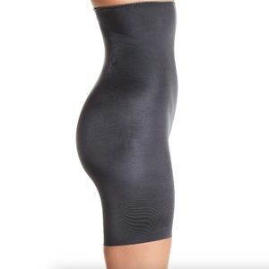SPANX Slimplicity Hi Waist Shaper Shorts in Steel
